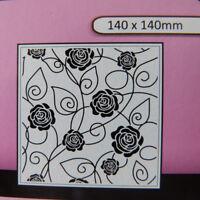 Crafts-Too/CTFD3108/Embossing /Folder/Rose/Flower
