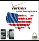 VERIZON IPHONE FACTORY UNLOCK SERVICE IPHONE 7, 7 PLUS SUPER FAST 30 MINS TIME!!