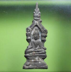 PERFECT! THAI BUDDHA PHRAKRUWAT RAJABURANA AYUTTHAYA VERY NICE