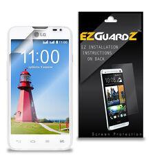 4X EZguardz LCD Screen Protector Skin Cover Shield HD 4X For LG L65 D285 (Clear)