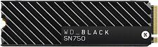Western Digital_Black SN750 1TB NVMe Internal Gaming SSD with Heatsink - Generat