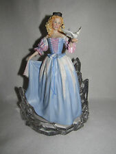 """PRINCESS OF THE ICE PALACE"" 1988 FRANKLIN MINT HOUSE OF FABERGE FIGURINE - MINT"