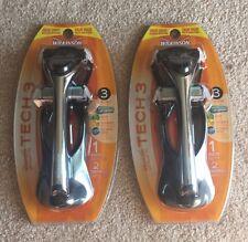 Wilkinson Sword Tech 3 1 Razor 2 Cartridges 2 PACKS Flexible Head Aloe Vitamin E