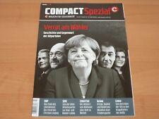 """COMPACT Spezial Magazin für Souveränität """"Verrat am Wähler"""" Ausgabe 14/2017"""
