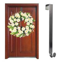 15'' Inch Adjustable Metal Wreath Hanger Door Hook Wreath Hanger for Front Door