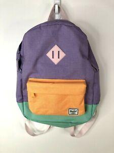 """Herschel Supply Co. Backpack  Color Block 15"""" School Purple"""
