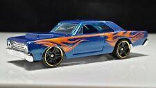 Mattel Toys Hot Wheels Muscle Car 1968 Dodge Dart Black Interior Detailed Flame
