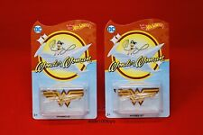 Hot Wheels DC Wonder Woman Invisible Jet Collector Edition Mail In Away Lot Of 2