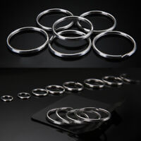 Lots Key Chain Keyring Circle Split Nickel Hoop Loop Ring 25mm Acces Supply