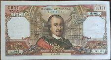 Billet de 100 francs CORNEILLE 3 - 6 - 1976 FRANCE  M.961