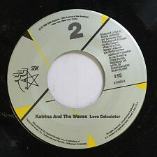 Pop Nm! 45 Katrina And The Waves - Love Calculator / That'S The Way On Sbk