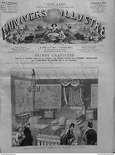 1882 UI9 MUSEO ARTI DECORATIVI CAMERA MARIA ANTOINETTE LETTO BALDACCHINO