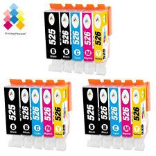 15 Ink Cartridges For Canon Pixma MG5150 MG5200 MG5250 MG5350 MG6150 MG8250