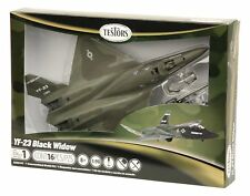 Testor's YF-23 Black Widow Military Aircraft Airplane Model Kit, 1:90 Scale ~