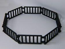 LEGO LADDER / FENCE BLACK (pack of 16) double clip castle
