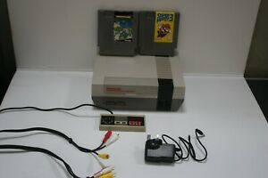 Nintendo NES Entertainment System Console working X2 GAMES