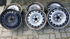 4 STAHLFELGEN  VW CADDY GOLF 5-6 TOURAN OKTAVIA SEAT LEON ALTEA  6 x15 ET47