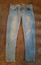 ZARA TRF Womens/Junior/Girls Jeans/Jeggings Size 8 Light Wash