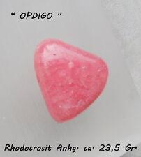 """Rhodocrosit (Argentinien)  Amulett  / Heilstein /  -   Designed by """"OPDIGO"""""""