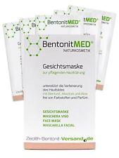 Bentonite MED® Face Mask 5 x 12 ml, Natural cosmetics