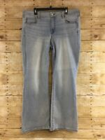 American Eagle Jeans Favorite Boyfriend Boot Cut Womens 18 Regular Super Stretch