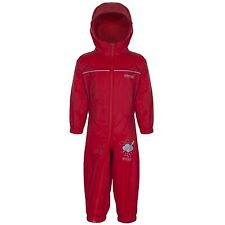 Regatta Kids Puddle IV Unisex Childrens Waterproof Overall Rkw156 60-72 Pepper
