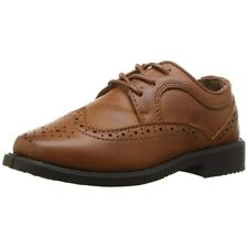 Kids Boys' Josmo 31801 NEW Wing Tips Tan Camel Brown Oxford Dress Shoes