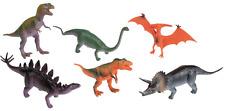 """6 Figurines de jeux """"Dinosaures"""" env. 15cm Set de jeux Dino tyrannosaurus-Rex"""