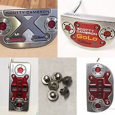 Scotty Cameron Fastback, Golo, Squareback Replacement Screw Set - New