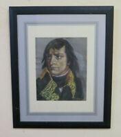 Porträt Von Napoleon Alter Zeichnung Pastell Unterzeichnet Damon Bild BM51