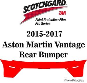 3M Scotchgard Paint Protection Pro Series 2015 2016 2017 Aston Martin Vantage