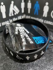 NEW MEN UNITED Prostate Cancer UK Pin Badge + Wristband Official Fundraiser⭐️⭐️⭐