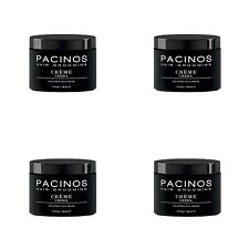 4 X Pacinos Signature Line Hair Grooming Sculpting Wax Creme 118ml.