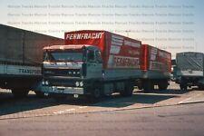 LKW Foto DAF 3300 klassischer Hängerzug Fernfracht Österreich - 10x15cm /LF46