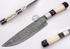 "11.00"" Custom Manufactured Beautiful Damascus Steel chef/kitchen Knife (1087)"