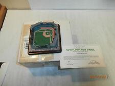 Danbury Mint St.Louis Cardinals&Browns-Sportsma ns Park Stadium w/Coa & Orig.Box