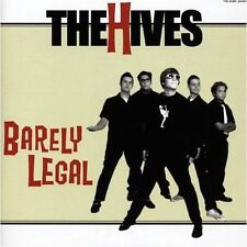THE HIVES - Barely Legal CD