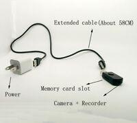 32GB Motion detect record Built-in battery HD spy nanny tiny camera DVR Recorder
