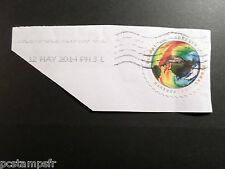 ETATS-UNIS USA, 2014, timbre GLOBAL FOREVER, oblitéré, VF used STAMP
