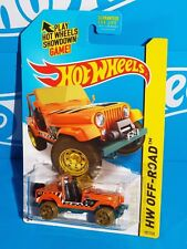Hot Wheels 2015 Secret Regular Treasure Hunt Jeep Cj-7 Orange w/ Or6Sps