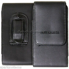 Bolsa de cinturón pistolera Soporte Universal Clip Lazo caso teléfono móvil PDA Cubierta Negro