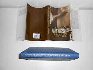 LA CAMERA AZZURRA Georges Simenon COPERTINA RIGIDA MONDOLIBRI LUGLIO 2004