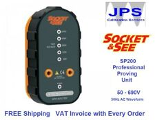 Proving Unit SP200 Socket & See Professional Proving Unit 50 - 690V AC JPST017