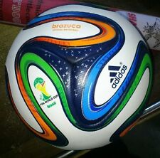 Brazuca World Cup FIFA Match Ball Soccer Football Size 5, 6 panel Free shipping