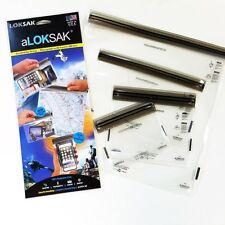 4 Set Aloksak 4x7 6x6 9x6 12x12 Waterproof Pouch Bags LOKSAK ALOKD4-MP NEW