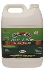 ORGANOIL WASH A WAY Outdoor NON TOXIC Cleaner Suitable for timber - 5 litre x 2