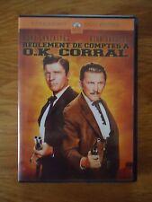DVD * REGLEMENT DE COMPTES A OK CORRAL * WESTERN Burt LANCASTER Kirk DOUGLAS