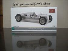 CMC M 161 1936 Auto Union Type C Eidel Race,  #18 Silver 1:18