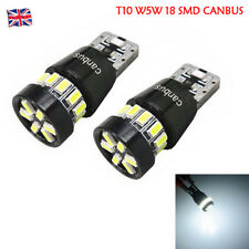 T10 W5W 18 SMD 3014 LED ERROR FREE CANBUS Potente Led Bombilla Lateral Blanco