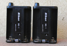 Nikon MS-1 AA battery holders for MB-1 battery pack - Working MS1 pair
